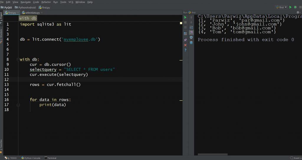 Python Sqlite Database For Beginners - Code Loop