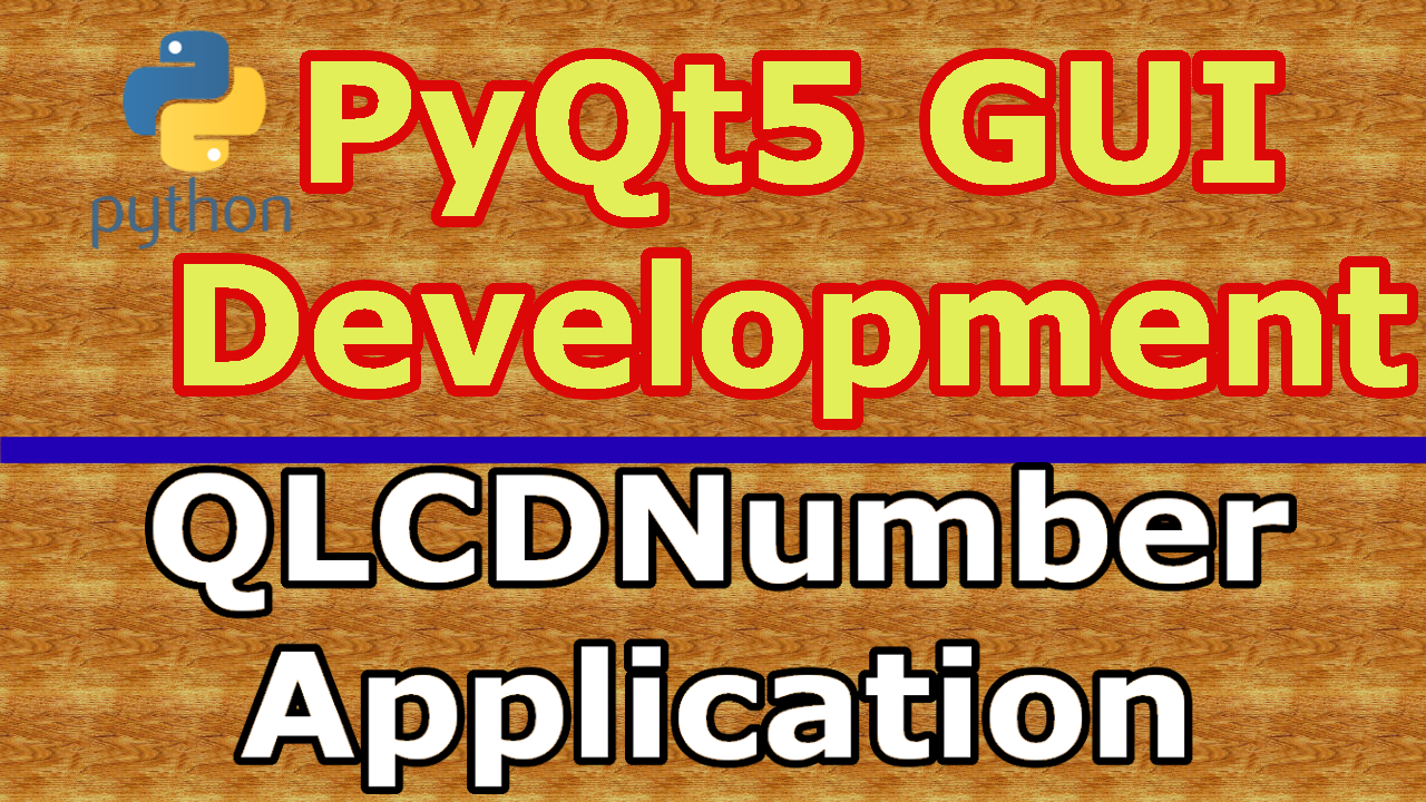 PyQt5 Random Generator Application With QLCDNumber - Code Loop