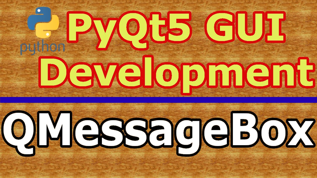 PyQt5 QMessageBox Practical Example - Code Loop