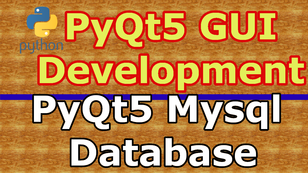 PyQt5 Inserting Data In To Mysql Database - Code Loop
