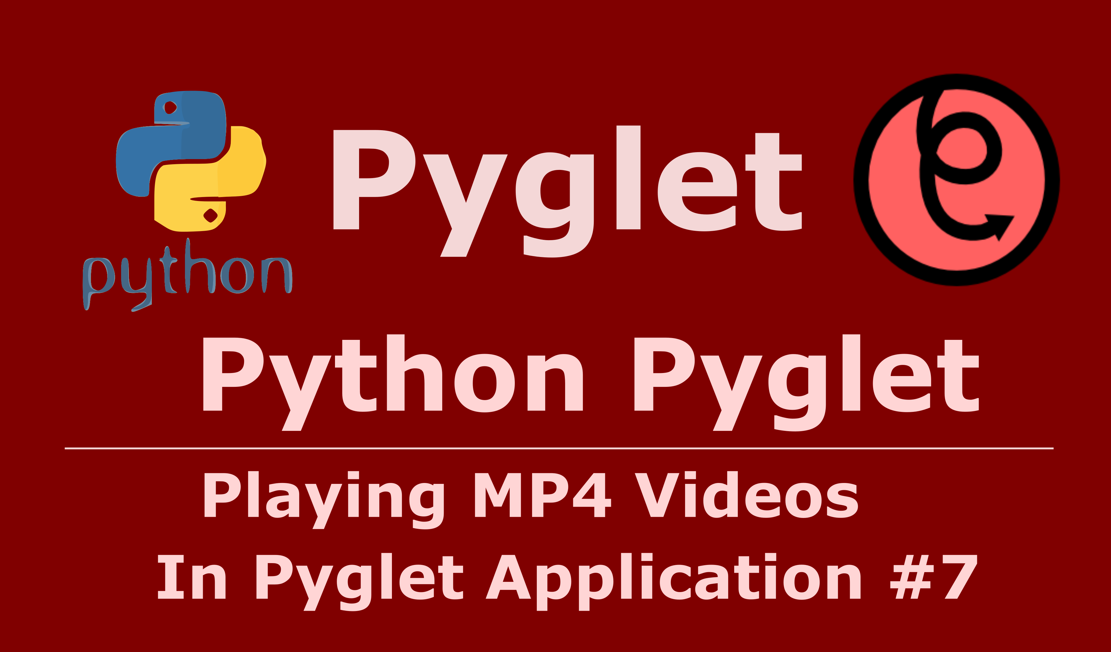 How To Play Mp4 Videos In Python Pyglet - Code Loop