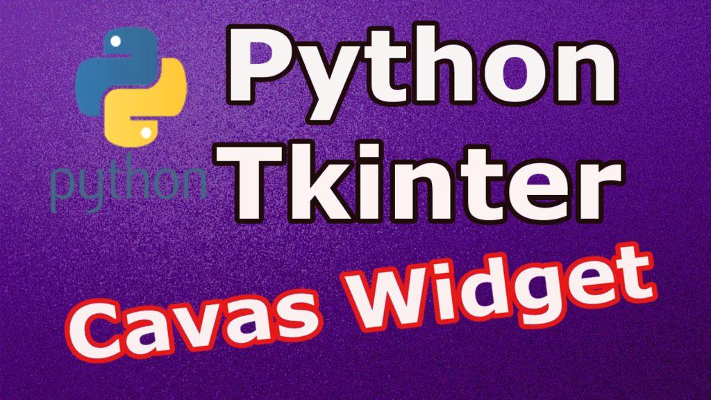 How To Create Canvas In Python TKinter - Code Loop