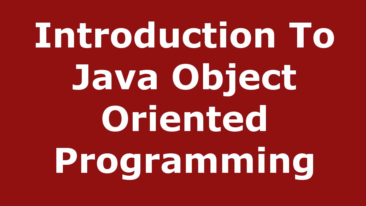 Java Basics Archives - Code Loop