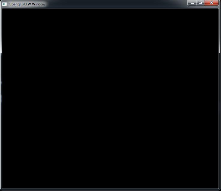 Python Modern Opengl GLFW Window - Code Loop