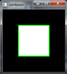 Python OpenCV Contour Detection Example - Code Loop