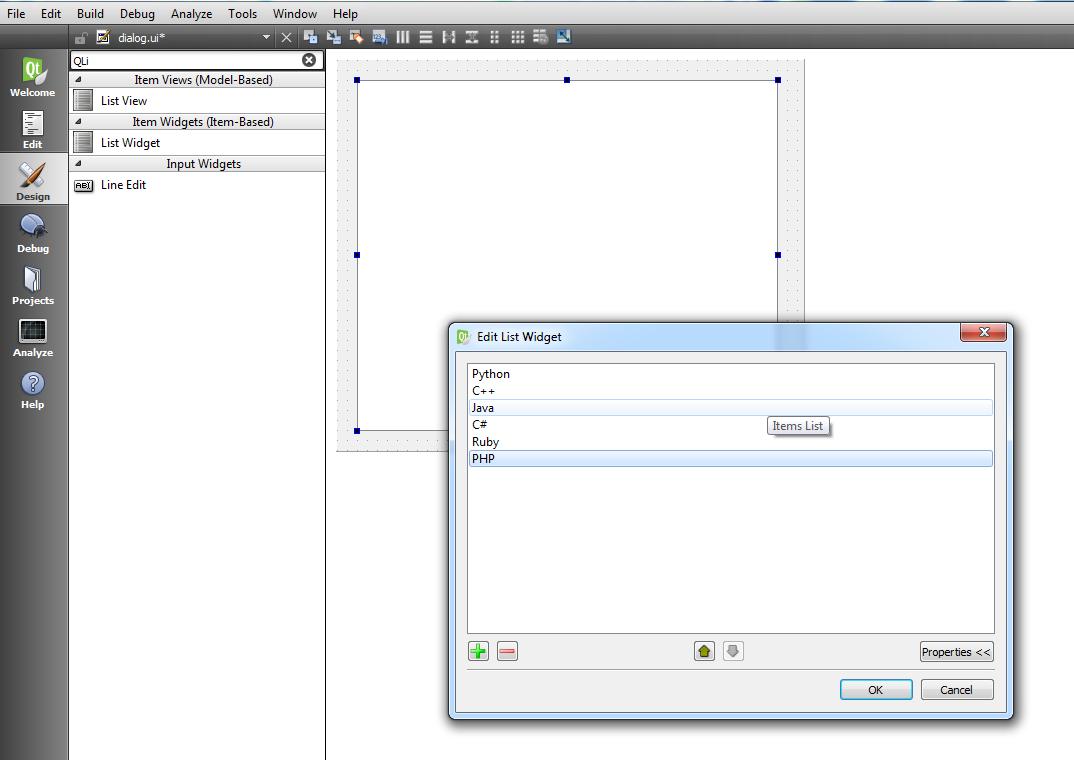 Qt5 GUI Development How To Create QListWidget - Code Loop