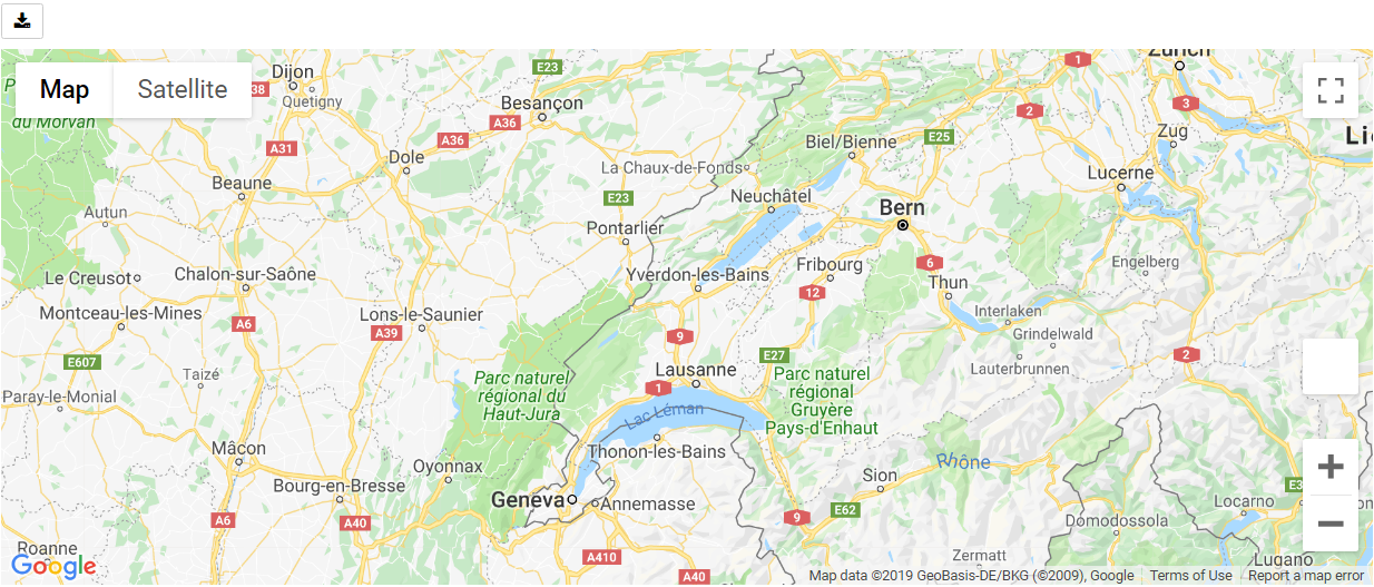 Python Google Map