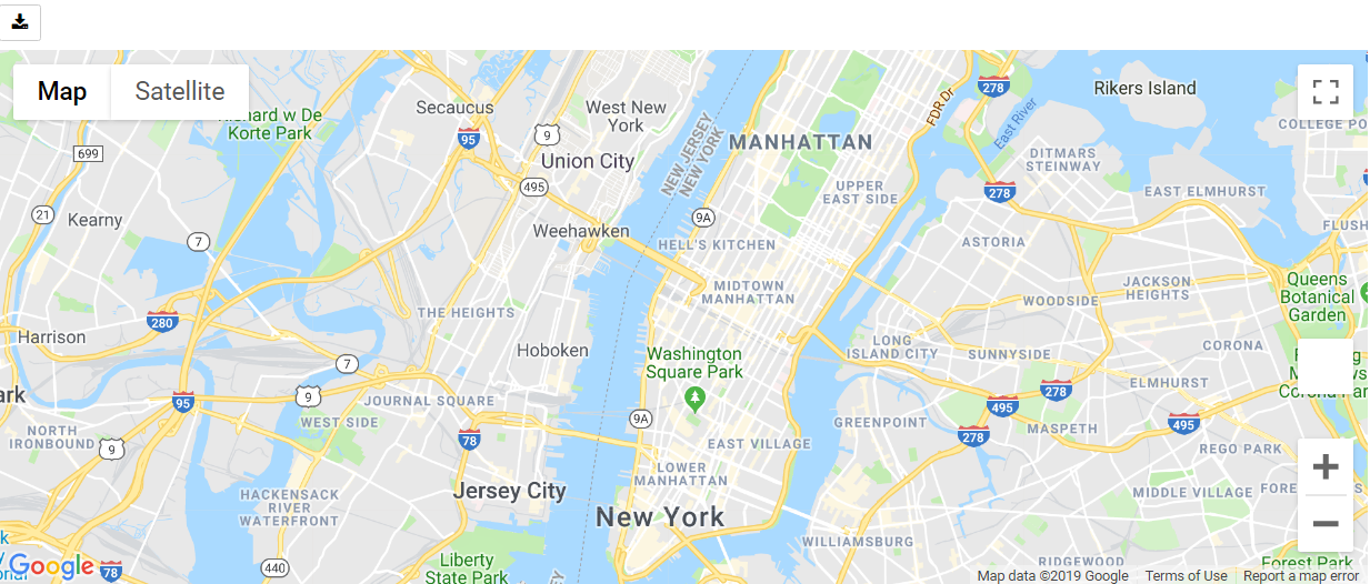Google Map Center