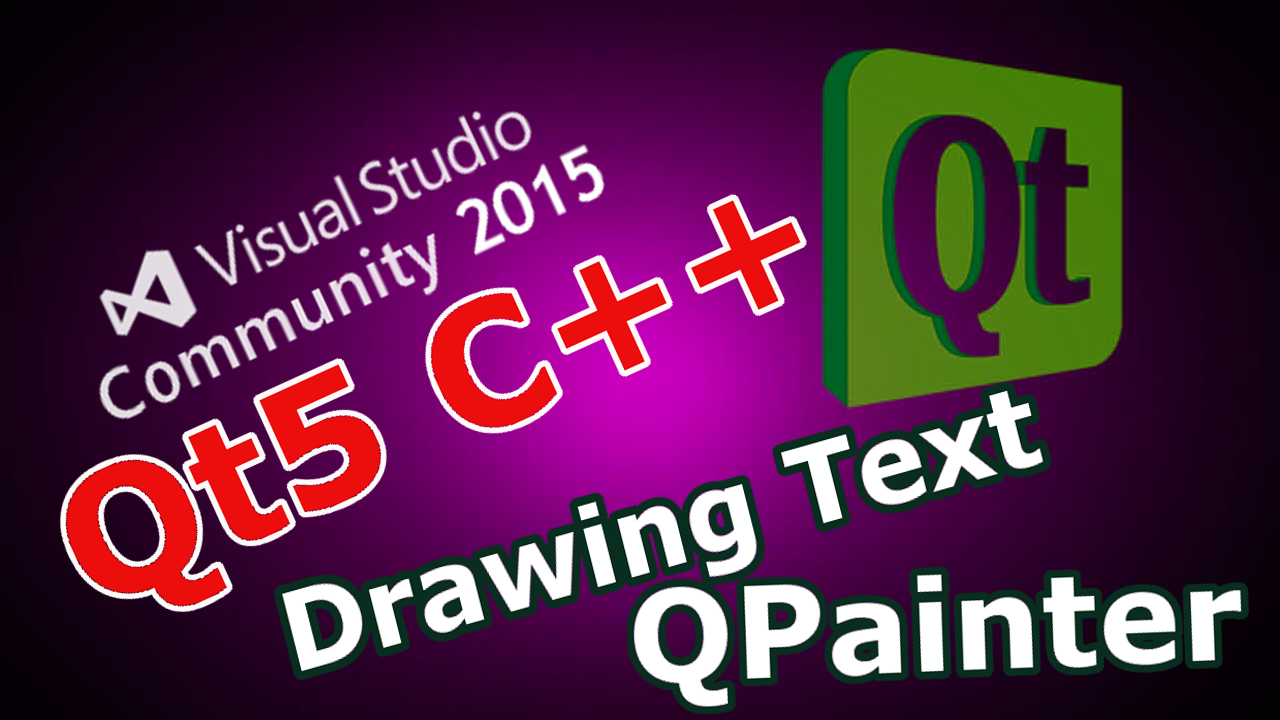 How to Draw Text & Line in Qt5 with QPainter - Code Loop