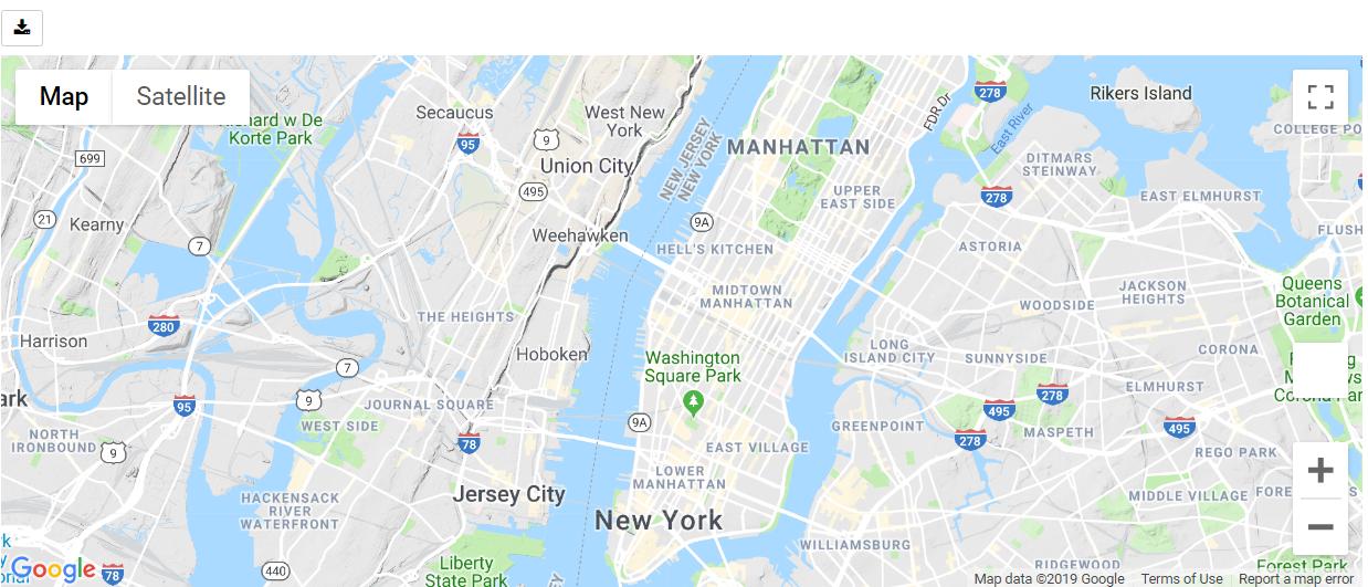 Terrain Map Type