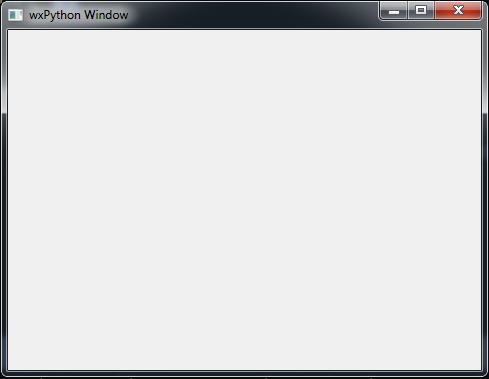 wxPython Window Example