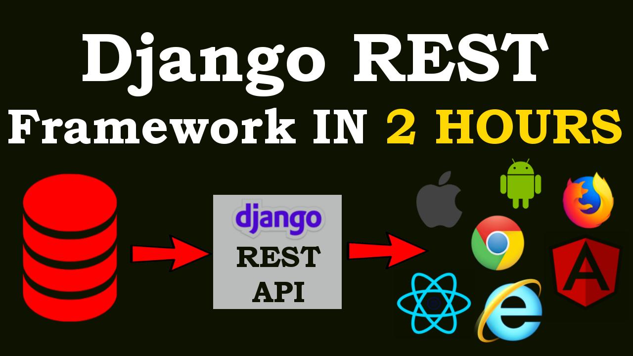 Django REST Framework Course for Beginners