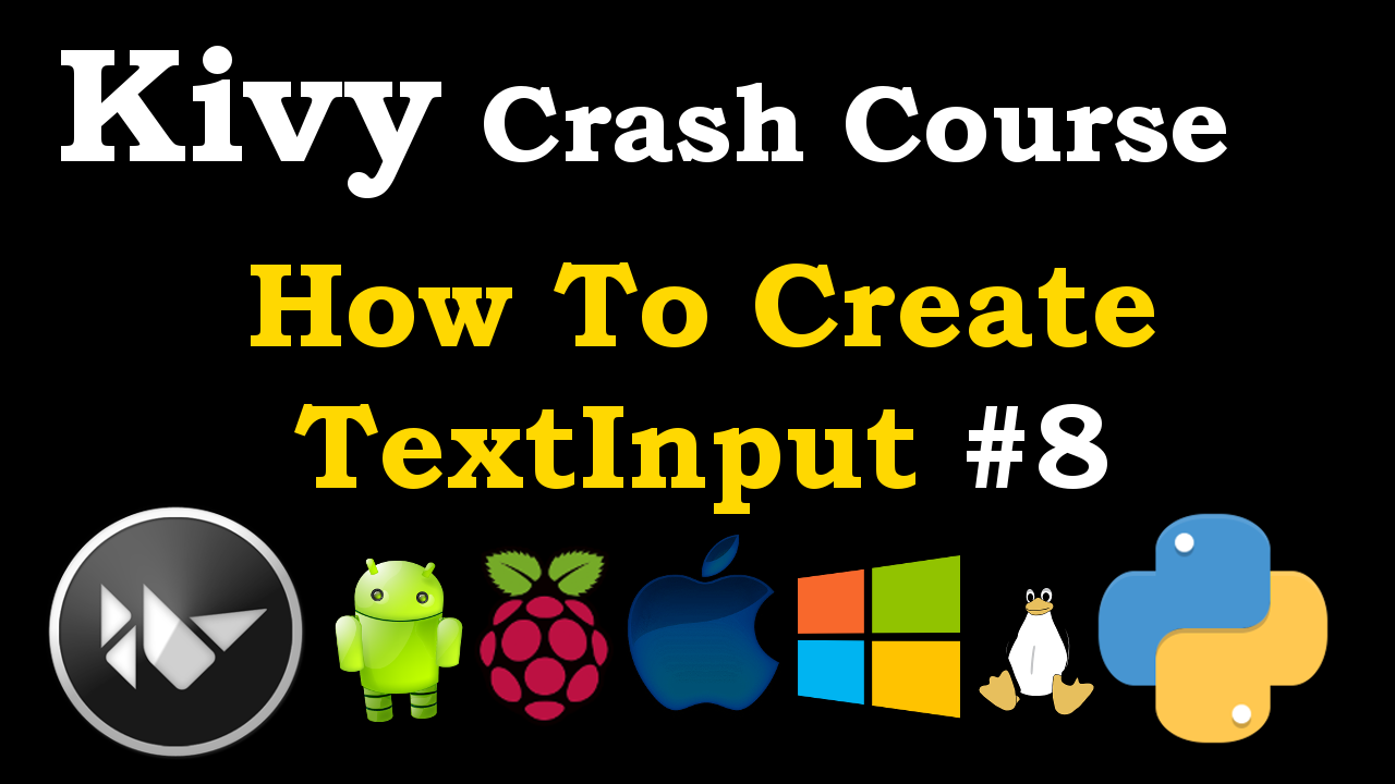 Python Kivy How To Create TextInput | GUI Development In Python