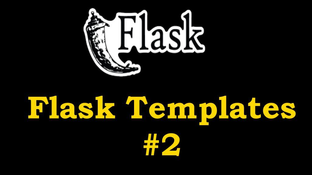 Python Flask - Introduction to Flask Templates